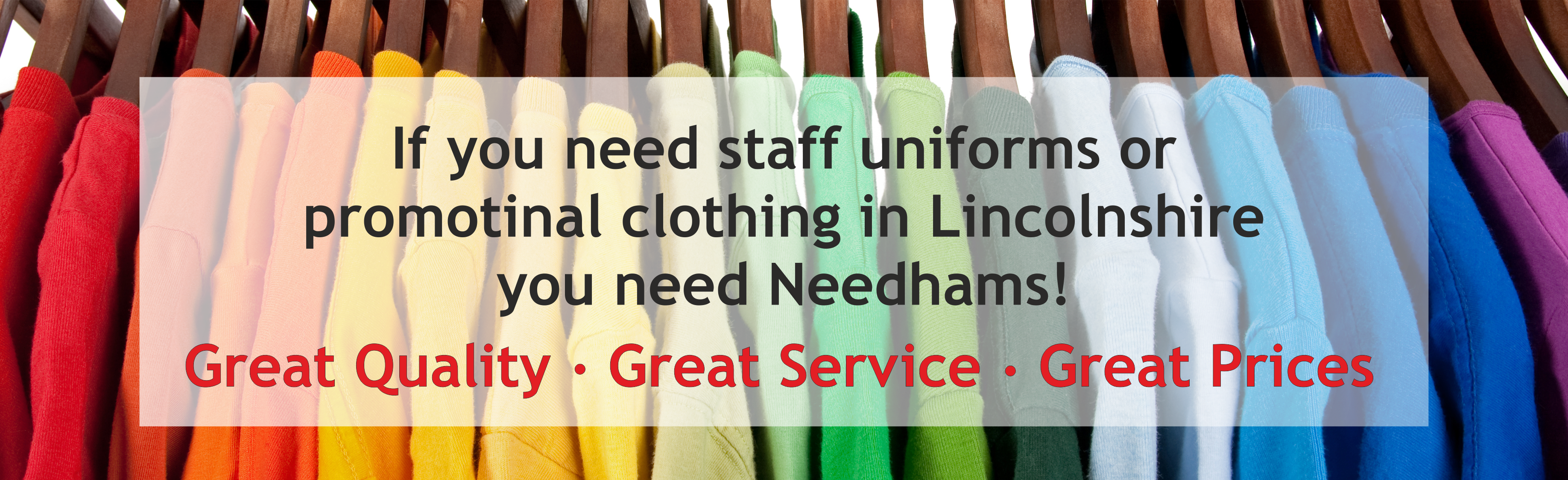 Embroidered workwear and staff uniforms in Lincoln, Lincolnshire