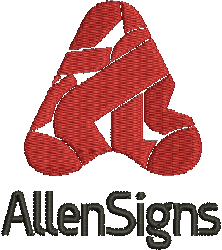 Allen Signs Lincoln Logo image