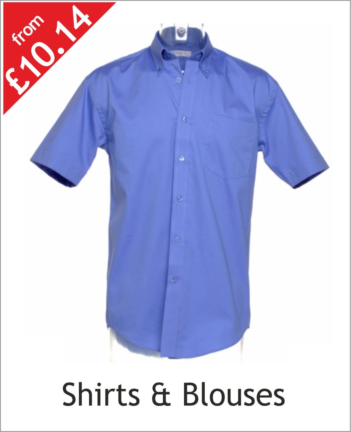 Embroidered & printed shirts & blouses catagory