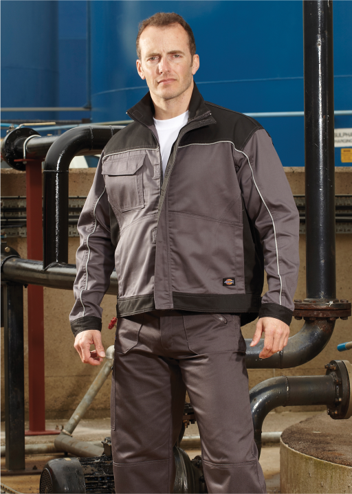 Workwear sector. Needhams Uniforms supplies embroidered and printed workwear and staff uniforms