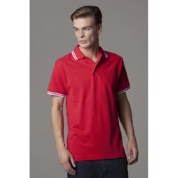Tipped collar polo (classic fit) Thumbnail