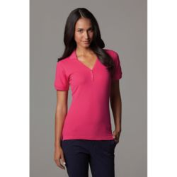 Sophia v-neck polo (regular fit) Thumbnail