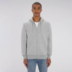 Unisex Connector essential zip-thru hoodie sweatshirt (STSU820) Thumbnail