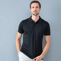 HiCool® tipped polo shirt Thumbnail