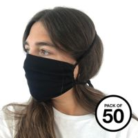 Organic cotton face mask (Pack of 50) Thumbnail