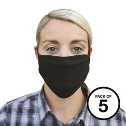 Washable 2-ply face covering (pack of 5) Thumbnail
